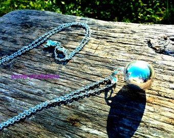 Angel caller necklace/ bola messicana/ pendant/ ring/ pregnancy/ baby/ mom/ legend/ guardian angel/ gift/ jewelry