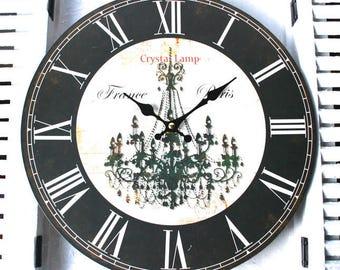 Wall clock Paris, motif Ø 30 cm