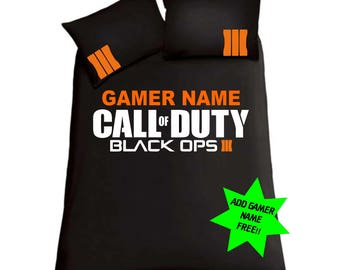Call Of Duty ; Black Ops 3 Double Bedding