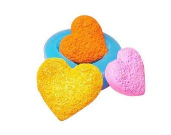Miniature cookie mold heart shaped