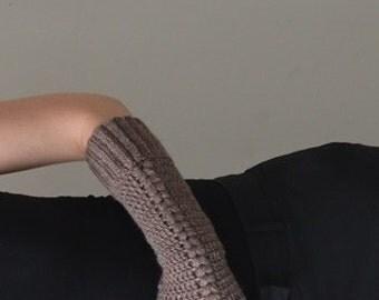Crochet Lace Gloves, Long Half Finger Gloves, Fingerless Lace Gloves, Crochet Arm Warmers, Arm Winter Gloves, Fashion Fingerless Gloves