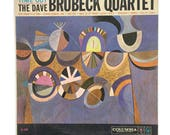 "The Dave Brubeck Quartet, ""Time Out"", vinyl record album, jazz lp, mono, piano, sax, saxophone, paul desmond, take five"