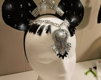 Couture Goth Mouse Ears