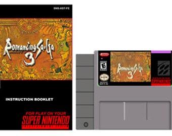 Romancing Saga 3 Complete Box Set