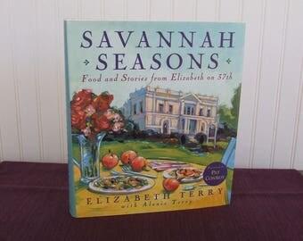 Savannah Seasons, Vintage Cookbook, 1996