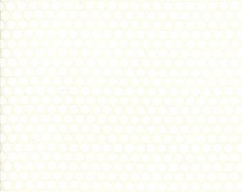 1 Yard Bonnie and Camille Basics by Moda -55023-38 Bliss Dot Cream