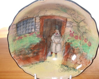 "Royal Doulton Series Ware ""The Gaffers"" dish/bowl"