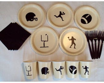 Football Tableware Set for 5 People