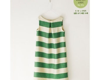 One Piece Dress is the BEST by Machiko Kayaki  - Japanese one piece pattern