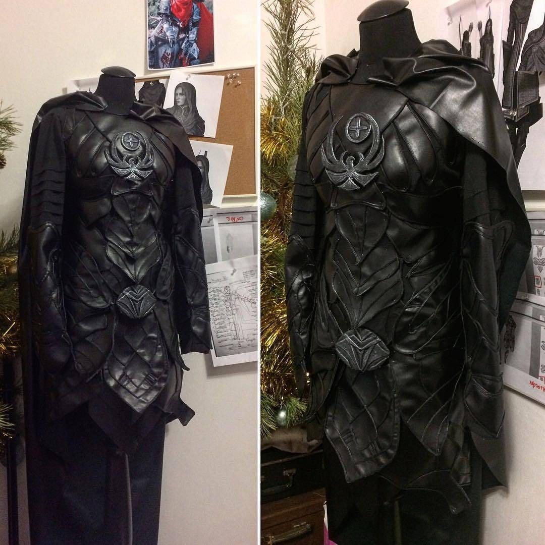 Black leather gloves skyrim -  Zoom