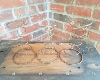 Rusty Bed Springs. 3 rustic bed springs, bed springs, rusty springs, rustic springs, set of springs, springs decor, primitive springs
