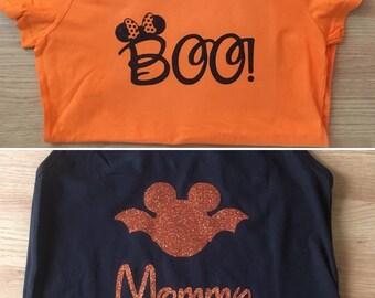 Custom Disney Halloween Shirt or Tank