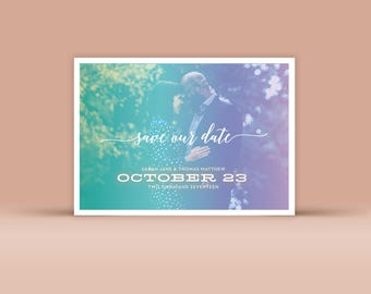 Save the Date No. 1 - Wedding Announcement
