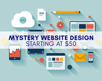 Mystery Website ~ We Design it for You!