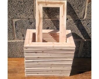 25 wood frames no hardware or glass bulk wood frames 55x11 - Wooden Picture Frames In Bulk