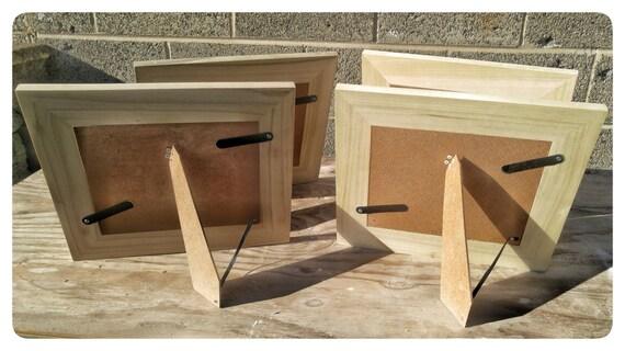 Poplar frames 8x10 poplar frames 4 poplar frames bulk for Unfinished wood frames for crafts