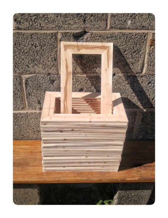 25 Wood Frames No Hardware Or Glass Bulk Wood Frames 5