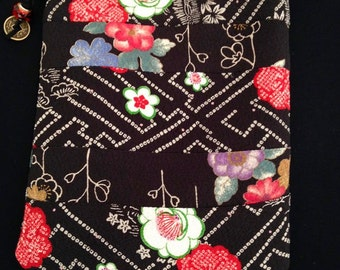 Japanese Patchwork Cross Body Pouch