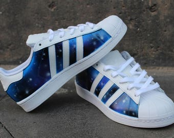 Custom Adidas Superstar GALAXY shoes
