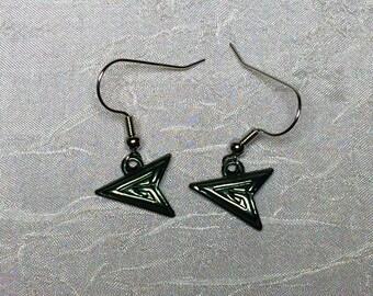 DC Green Arrow silver earrings