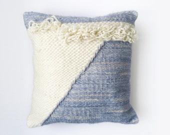 Cushion woven - woven cushion - Totem by Poppy