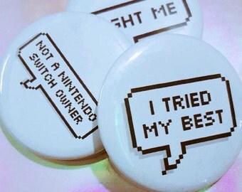 Custom Speech Bubble Pin