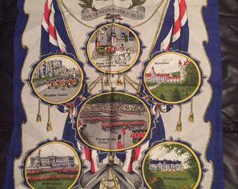 1977the queens silver jubilee tea towel