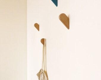 Pistachio - hooks coat rack wall hooks