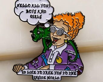 Mrs.Frizzle Fry Hat Pin