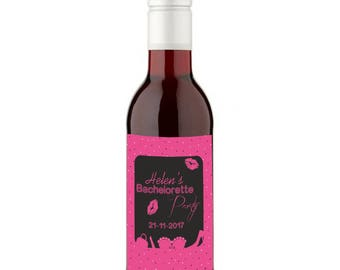 12 Personalised Bachelorette Wines - 187ml
