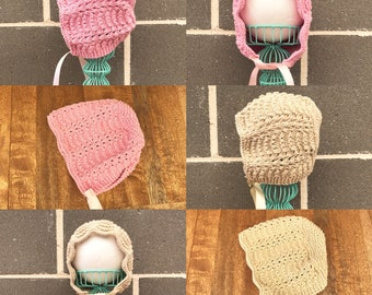 Hairloom Vintage Style Baby Bonnet