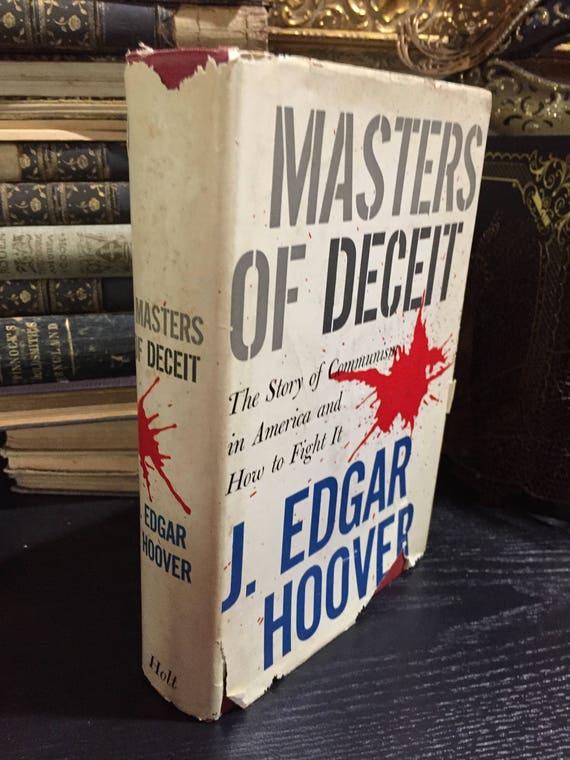Masters of Deceit, SIGNED...