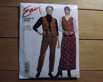 Easy stitch 'n save sewing pattern by McCall's pattern #2282