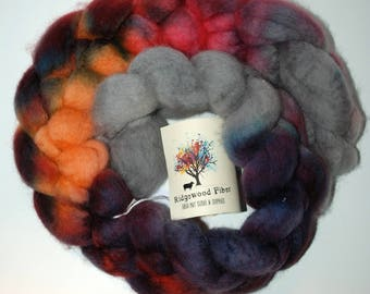 4oz BFL Roving (combed top)