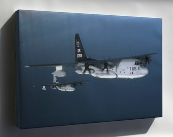 Canvas 24x36; Kc-130J Hercules Aircraft, (Vmgr) 352 P2