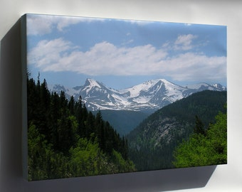 Canvas 24x36; Rocky Mountains Near Boulder Colorado