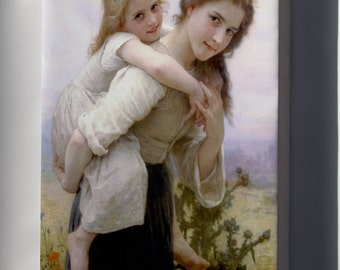 Canvas 24x36; Not Too Much To Carry William-Adolphe Bouguereau (1825-1905) - Not Too Much To Carry (1895