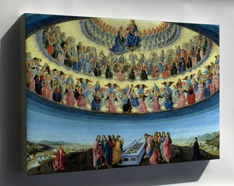 Canvas 16x24; Assumption Of The Virgin By Francesco Botticini