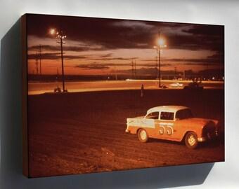 Canvas 16x24; Albuquerque Speedway Park, One Of Three Stock Car Race Tracks In Albuquerque Nara 545318