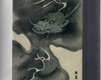 Canvas 16x24; Japanese Dragon, Ukiyo-E Print