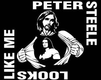 Peter Steele Tee Shirt original art by Jay Luke
