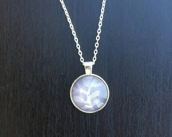 Floral Pendent Silver