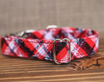 Plaid Collar | Dog Collar | Male Dog Collar | Female Dog Collar | Novelty Dog Collar | Pet Collar | Large Dog Collar | Small Dog Collar