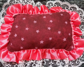 Starlight pink doll pillow