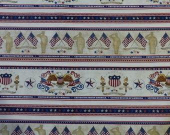 Quilting Treasures - Home of the Brave - 1649-24810-E - Dan Morris - Soldiers - Patriotic - Quilts of Valor - 4th of July - Military