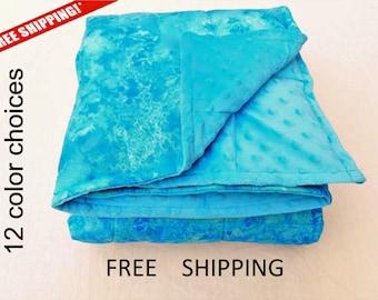 weighted blanket - weighted blankets - weighted blanket adult - weighted blanket child - queen - weight twin - child blanket - FREE SHIPPING