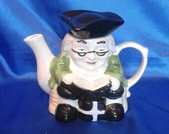 "Vintage Toby Jug Teapot ""The Judge"""