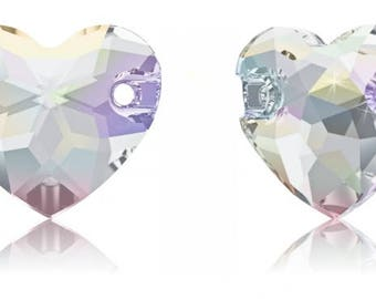 Swarovski 3259 - Heart Crystal Sew-on Stone