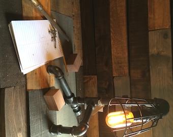 Industrial Pipe Lamp - Corner Store