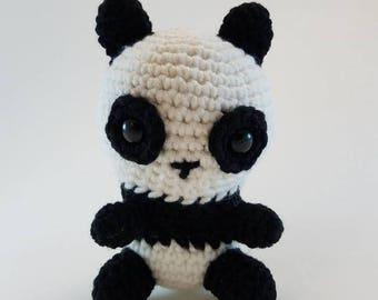 Crochet Panda Plush